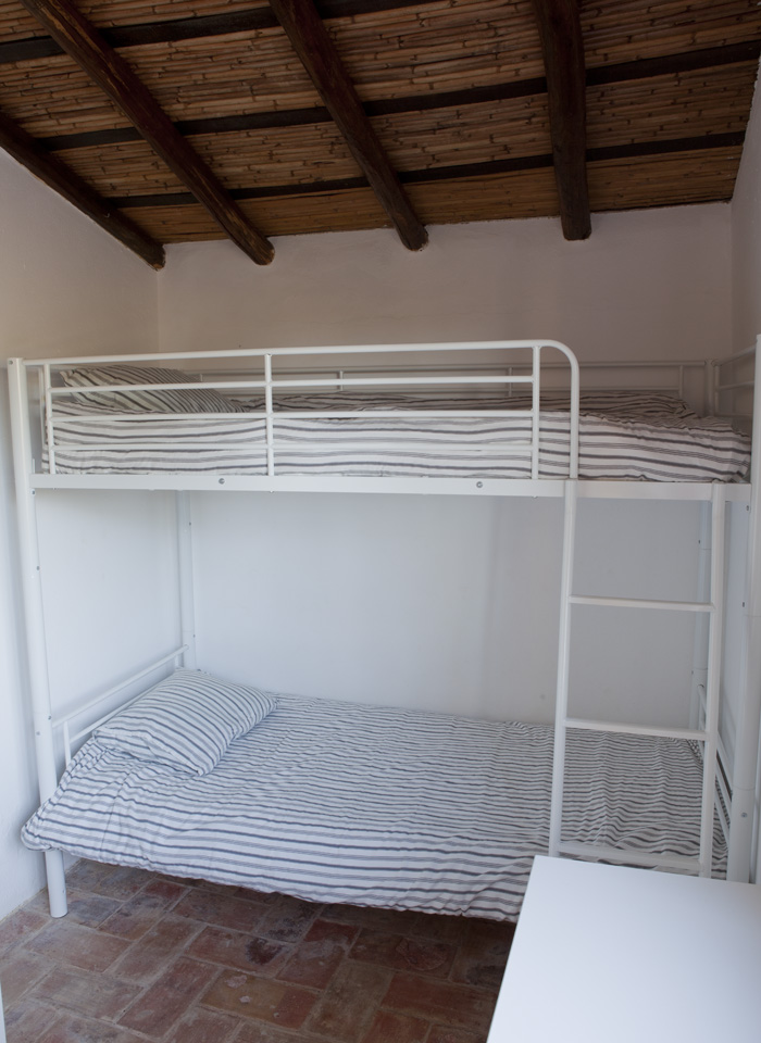 Casa Jasmim, bedroom, bunk bed